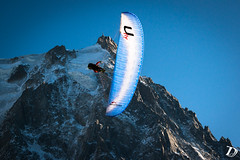 Wings over in front of Aiguille du Midi ©DamienDeschamps (deschdam6@gmail.com) Tags: paragliding parapente wings flying freestyle landscape actionphotography action chamonix aiguilledumidi montblanc chamonixmontblanc blue sky sport sportphotography skysport extremesport extreme soaring alps alpes nature outdoors