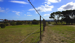 Wires leading to nowhere (|Sarah|) Tags: adelaide australia barossavalley canon1200d colourful countryside edenvalleylookout hills landscape nature photography ruleofthirds southaustralia tourism travelphotography vibrancy vibrant