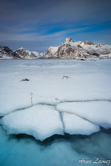 ice (arnolamez) Tags: lofoten ice mountain montagne seascape sea paysage landscape