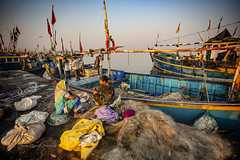 VANAKBARA : SUR LES QUAIS (pierre.arnoldi) Tags: diu gujarat inde pierrearnoldi photographequébécois artistequébécois photooriginale photocouleur photodevoyage on1photoraw2018 canon6d