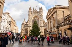 Bath Abbey (Baker_1000) Tags: 2018 bath somerset christmas autumn nikon d90 nikond90 raw abbey bathabbey