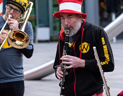 Wonderbrass Cardiff (Nikonsnapper) Tags: olympus omd em1 zuiko 75mm wonderbrass cardiff street colour