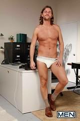 Lucas Knowles shoes (erikfritzsche) Tags: gay schwul shoes socks underwear office male man homme uomo