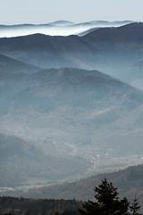Du Haut du Storkenkopf (mrieffly) Tags: alsace hautrhin hautesvosges lemassifdugrdballon valléedelathur brumes brouillard canoneos50d mitzach