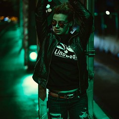 """Don't stop me now, I'm having such a good time I'm having a ball"" @akquired @fortheloveofrandom #akquired #sunglasses #bridge #neonoftheday #leatherjacket #rippedjeans #yycfashion #yycmodel #streetportrait #neonportrait #teamcanon #EOSR #biorhythmphotogr (biorhythmphotography) Tags: ifttt instagram dontstopmenowimhavingsuchagoodtimeimhavingaball akquired fortheloveofrandom sunglasses bridge neonoftheday leatherjacket rippedjeans yycfashion yycmodel streetportrait neonportrait teamcanon eosr biorhythmphotography"