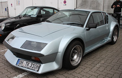 A310 (Schwanzus_Longus) Tags: hamburg motor classics german germany france french old classic vintage car vehicle coupe coupé sport sports alpine a310 renault