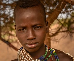 Hamar Tribe (Rod Waddington) Tags: africa african afrique afrika äthiopien ethiopia ethiopian ethnic etiopia ethnicity ethiopie etiopian hamer hamar tribe traditional tribal omovalley outdoor omo omoriver girl portrait people
