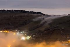 Stratus nocturne sur le Mont Bénand (MarKus Fotos) Tags: alpes alps automne auvergnerhonealpes autumn chablais canon clouds cloud evian france hautesavoie landscape léman fog brume brouillard lights nuages nightscape night nuit nuage paysage gavot