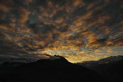 tramonto (il goldcat) Tags: goldcat tramonto cevo valsaviore valcamonica montagne sunset mountains alp alpi nubi clouds