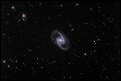 The Great Barred Spiral Galaxy ( NGC 1365 ) in the Constellation Fornax (Mike O'Day) Tags: great barred spiral galaxy constellation fornax ngc 1365 gc731 2552 john herschel nebula orion optics ct12 eq8 asa coma corrector quattro tsoag9 starlight xpress lodestar pixinsight sky star hdr dslr unmodified nikon d7500 skywatcher newtonian telescope astro astrophotography astrometrydotnet:id=nova3110350 astrometrydotnet:status=solved