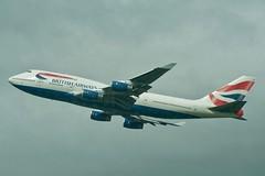 British Airways Boeing 747-400 from Heathrow T5