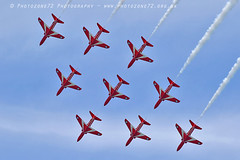 8288 Diamond (photozone72) Tags: eastbourne airshows aircraft airshow aviation raf canon canon7dmk2 canon100400f4556lii 7dmk2 rafat redarrows reds hawk diamond