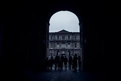 Louvre in rain (N.sino) Tags: leica m9 ultron35mmf17 voightlander louvre rain paris france portdesart ルーブル宮殿 ルーブル美術館 パリ 雨 傘 ポルトデザール門