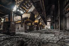 HFB7 (Lefers.) Tags: hfb urbex 2018 lefers abandoned industrial fuji xt1 wideangle wideangleshot decay heavy rust metal blast furnace warm details fineart