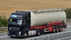 PL - nameless Volvo FH 460 GL03 (BonsaiTruck) Tags: lag nameless volvo lkw lastwagen lastzug silozug truck trucks lorry lorries camion caminhoes silo bulk citerne powdertank