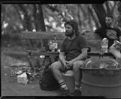 jeremy kaiser on 4x5 film (Garrett Meyers) Tags: graflexseriesd4x5 trails bmx bmxtrails bmxphotographer film filmphotographer largeformat 4x5film graflex graflex4x5 garrettmeyers garrett meyers blackandwhitefilm portrait dirtjumps handheld handdeveloped