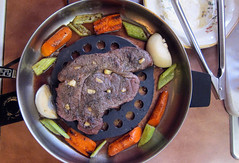 Roast_Steak-tt (Guyser1) Tags: food steak chucksteak bakedsteak westyellowstone canonpowershots95 pointandshoot