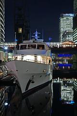 Night Lights (Neil Pulling) Tags: londondocklands london england uk nightshot night nightview canarywharf