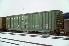 CB&Q Class XML-16 20984 (Chuck Zeiler54) Tags: cbq class xml16 20984 burlington railroad boxcar box car freight cicero train chuckzeiler chz