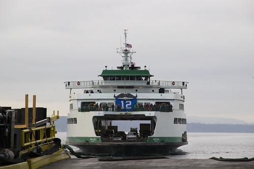 Wenatchee approaches Colman Dock
