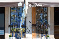 Mon café préféré (hans pohl) Tags: portugal sesimbra setubal façades architecture volets shutters advertising publicités