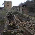 beam engine and pit head foundations