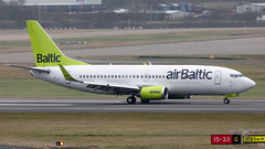 YL-BBX B733 air BALTIC