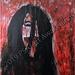 """""""Bleed"""" by Jessia G, acrylic, $40.00"""