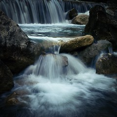 Fluidity (Jim Nix / Nomadic Pursuits) Tags: jimnix nomadicpursuits austin texas bullcreek bullcreekgreenbelt waterfall stream creek water luminar skylum sony sonya7ii 2470mm