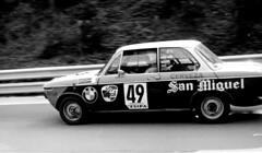 BMW 2002 CIRCUITO DE MONTJUICH 1971 (Manolo Serrano Caso) Tags: bmw 2002 circuito de montjuich race car racing