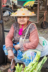 Burmese woman in hat (HellonEarth2006) Tags: burma burmesewoman takprovince thailand asian border cigarette ethnic hat joint maesot myanmar north northern sat sitting smoking southeastasia woman