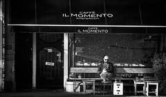 Momento (M. Nasr88) Tags: amsterdam blackwhite autumn building city d750 digital fall naturallight nikon monochrome street streetphotography thenetherlands travel urban man candid reading citylife amesterdam