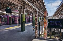 Arashiyama Station (bacon.dumpling) Tags: arashiyama fujifilmxpro2 fujinonxf16mmf14rwr japan kyoto