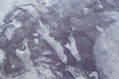 Purple Range (brucetopher) Tags: purple sand pattern texture above beach cobalt quartz magnetic mineral glacial deposit nature natural found foundart naturesart abstract foam water creation tone tonal contrast ocean time erosion grain grains purplesand