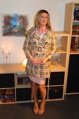 Thank you! (Rikky_Satin) Tags: pvc trenchcoat leather skirt silk satin scarf shiny pantyhose nylons platform highheels peeptoe crossdresser tgirl tgurl sissy secretary