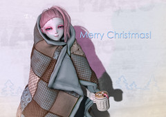 Christmas Group Gifts ( Blanket and Coffee Cup) (=^HARO^=) Tags: haro christmas secondlife sl 2ndlife utilizator kemono nopin free gift blanket coffee cup aimi m4head kokolores