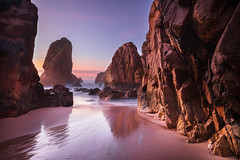 Ancient Lands (J C Mills Photography) Tags: portugal sintracascaisnaturalpark beach praia rocks sand landscape seascape
