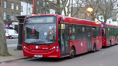 Length Extension (londonbusexplorer) Tags: tower transit adl enviro 200 dml44290 yx61fyn 339 shadwell mile end stratford leytonstone tfl london buses