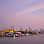Sunset In Maenam Chao Phraya thumbnail
