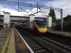 390018 (Rob390029) Tags: virgin trains class 390 390018 harrow wealdstone railway station hrw