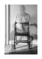 passing Through © (wpnewington) Tags: selfportrait ghost longexposure portrait passing life chair me