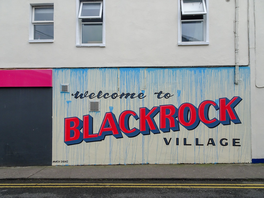 WELCOME TO BLACKROCK VILLAGE [COUNTY DUBLIN]-148038