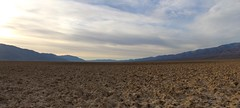 1116 Panorama looking south over the enormous salt flats of Death Valley from the West Side Road (_JFR_) Tags: camping hiking deathvalley deathvalleynationalpark westsideroad salt