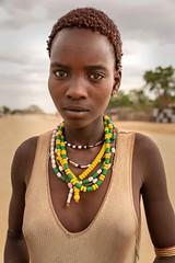 Hamar Woman (Rod Waddington) Tags: africa african afrique afrika äthiopien ethiopia ethiopian ethnic etiopia ethnicity ethiopie etiopian omovalley omo omoriver hamer hamar tribe traditional tribal woman beads portrait streetphotography