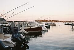 (Doug J.) Tags: boat boats sea ocean water shore coast island film canon eos rebelg 500n 40mm f28 agfa vista 200 marthas vineyard marina