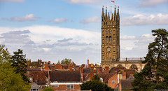 Warwick, United Kingdom (tomst.photography) Tags: warwick england unitedkingdom nature castle church history flag houses roof tomst