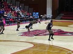 Zuzu Acrobats - Jumping (dougmartin571) Tags: roanokecollege lynchburghornets roanokemaroons maroonsathletics basketball americasgottalent agt zuzuacrobats maroonathletics roanokecollegeathletics