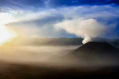 Dawn At Mount Bromo (El-Branden Brazil) Tags: indonesia mountbromo dawn java volcano happyplanet asiafavorites