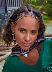 Adigrat Girl (Rod Waddington) Tags: africa african afrique afrika äthiopien ethiopia ethiopian ethnic etiopia ethnicity ethiopie etiopian tigray adigrat girl child portrait people hairstyle traditional