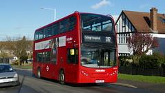 Snogsex Visits Ruislip Manor (londonbusexplorer) Tags: metroline west dennis trident adl enviro 400 te1727 sn09cex 282 mount vernon hospital ealing tfl london buses